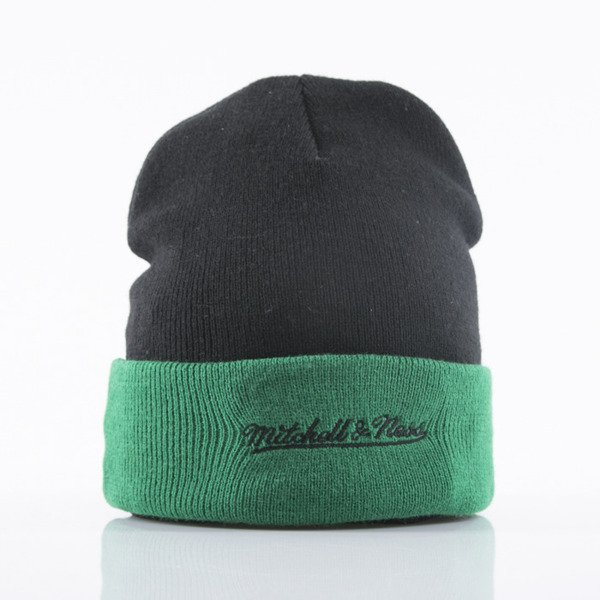 Mitchell & Ness beanie Boston Celtics black Arched Cuff Knit EU349