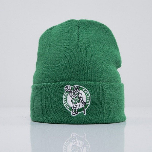 Mitchell & Ness beanie Boston Celtics green Headline EU253