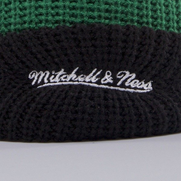 Mitchell & Ness beanie Boston Celtics green Retro Patch KN34Z