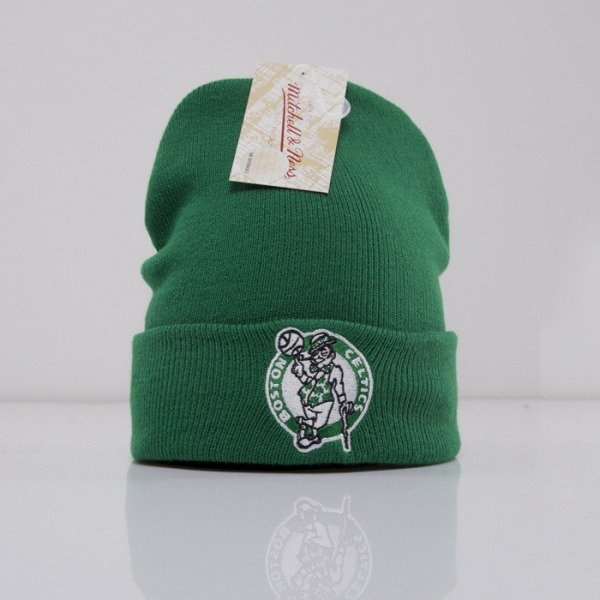 Mitchell & Ness beanie Boston Celtics green Team Talk EU175