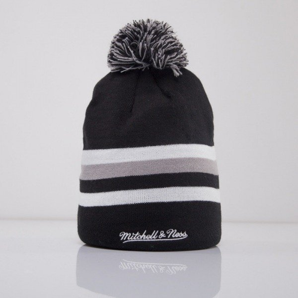 Mitchell & Ness beanie Brooklyn Nets black Boost Team Color Long KL81Z