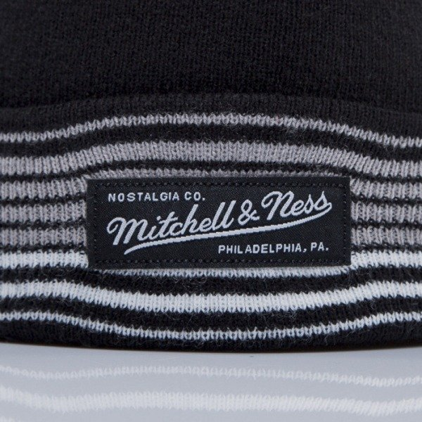 Mitchell & Ness beanie Brooklyn Nets black Headline EU256