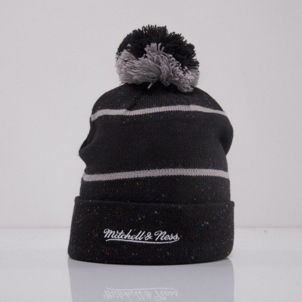 Mitchell & Ness beanie Brooklyn Nets black Speckled KN41Z