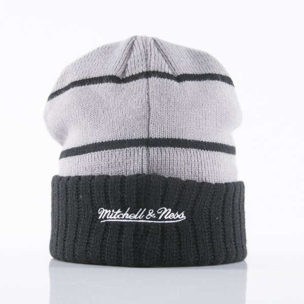 Mitchell & Ness beanie Brooklyn Nets grey High 5 KJ58Z
