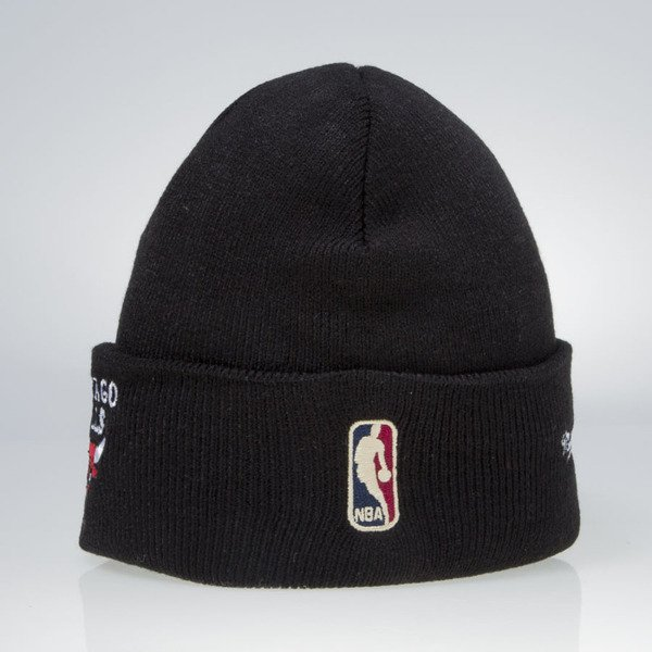 Mitchell & Ness beanie Chicago Bulls black Team Talk EU175