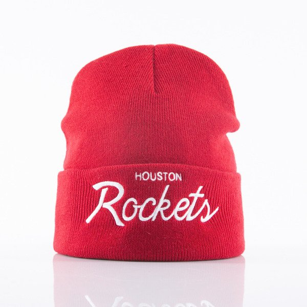 Mitchell & Ness beanie Houston Rockets red Team Talk EU175