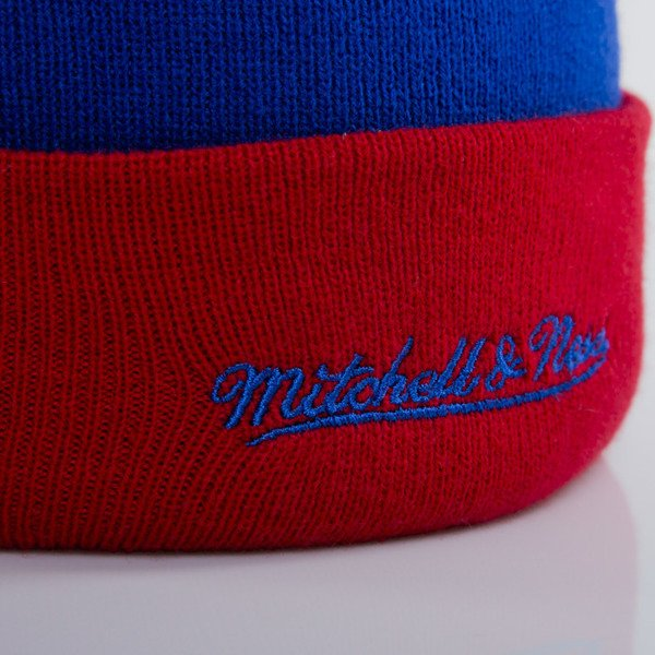 Mitchell & Ness beanie Los Angeles Clippers blue Arched Cuff Knit EU349