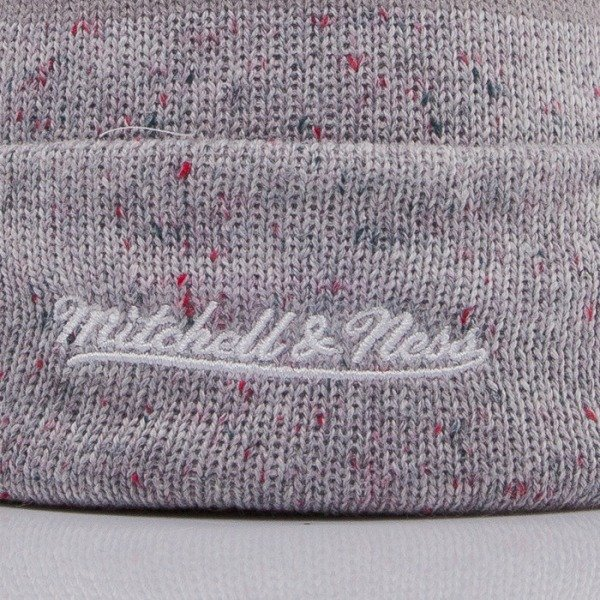 Mitchell & Ness beanie Los Angeles Kings grey Speckled KN40Z
