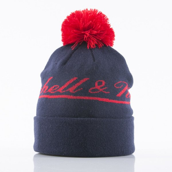 Mitchell & Ness beanie M&N Script navy Tight Cuffed KB74Z