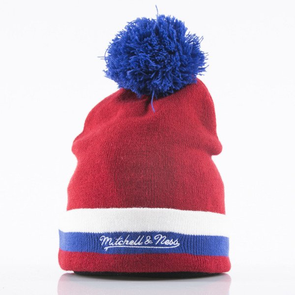 Mitchell & Ness beanie Montreal Canadiens red Jersey Stripe KC84Z