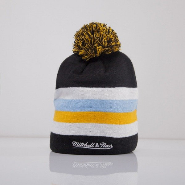 Mitchell & Ness beanie Pittsburgh Penguins black Boost Team Color Long KL87Z