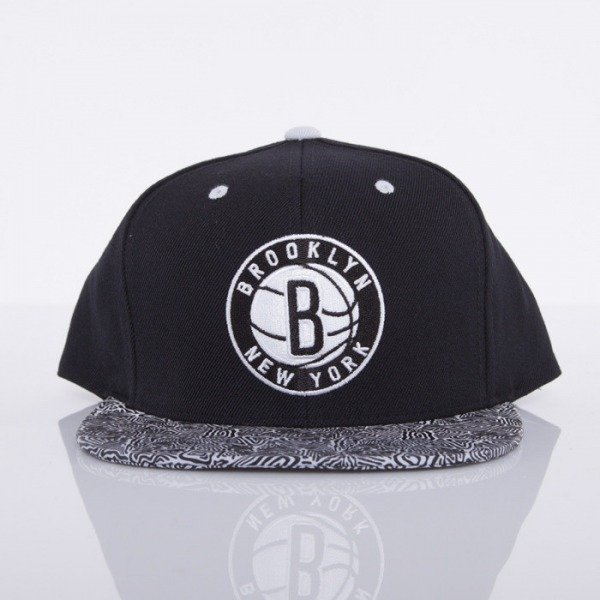Mitchell & Ness cap Brooklyn Nets black Court Vision