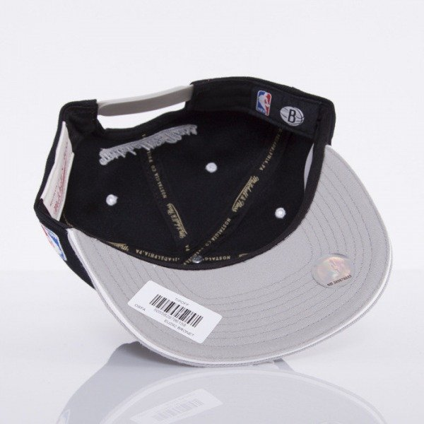 Mitchell & Ness cap Brooklyn Nets black Tip Off