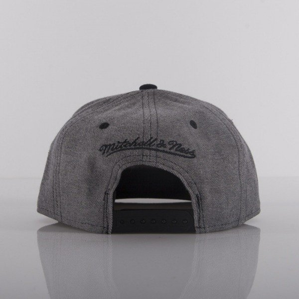 Mitchell & Ness cap Brooklyn Nets heather grey Rewind EU284