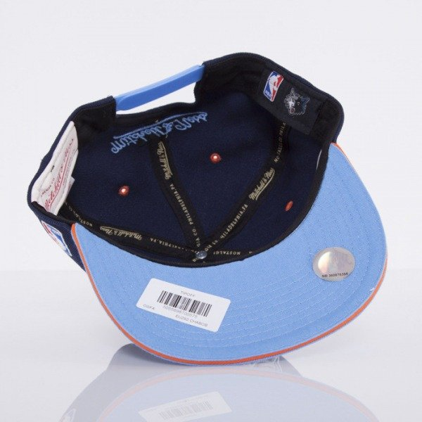 Mitchell & Ness cap Charlotte Bobcats navy Tip Off