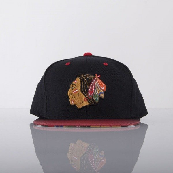 Mitchell & Ness cap Chicago Blackhawks black Stop On A Dime NZ57Z