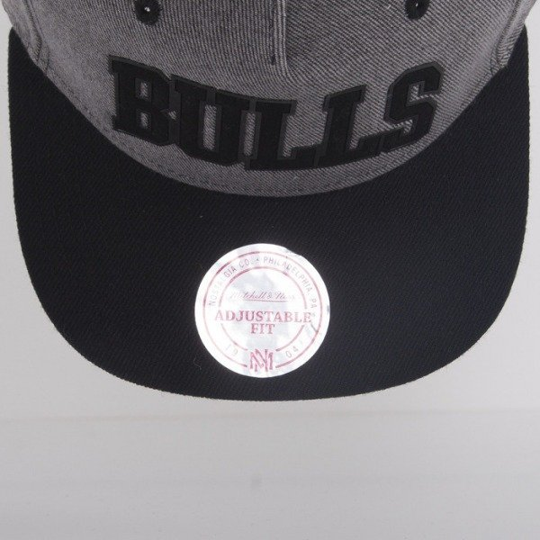 Mitchell & Ness cap Chicago Bulls heather grey Rewind EU284