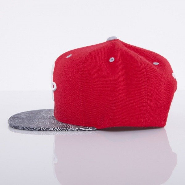 Mitchell & Ness cap Houston Rockets red Court Vision