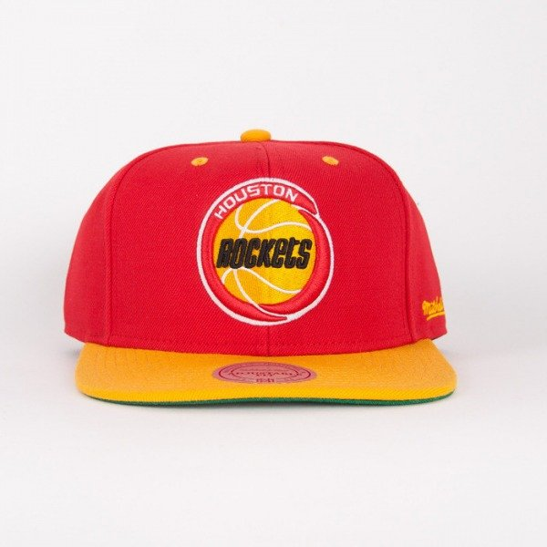 Mitchell & Ness cap Houston Rockets red / yelow Flipside