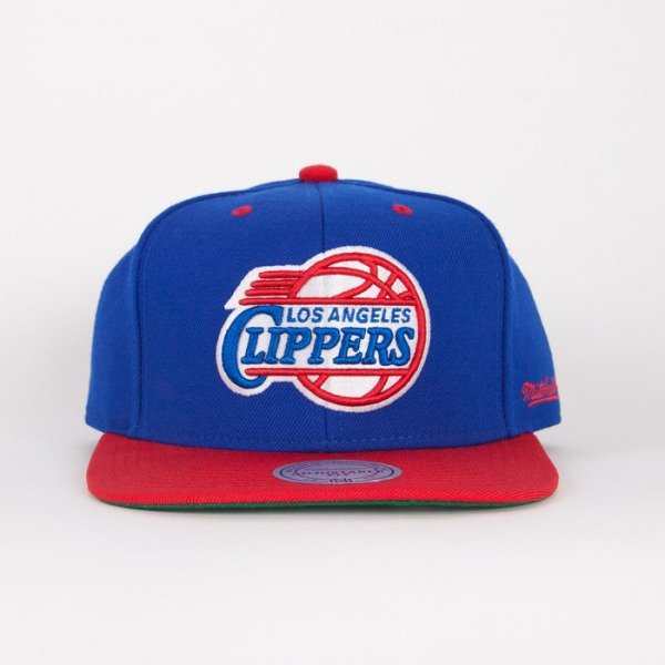 Mitchell & Ness cap  Los Angeles Clippers blue / red  Flipside