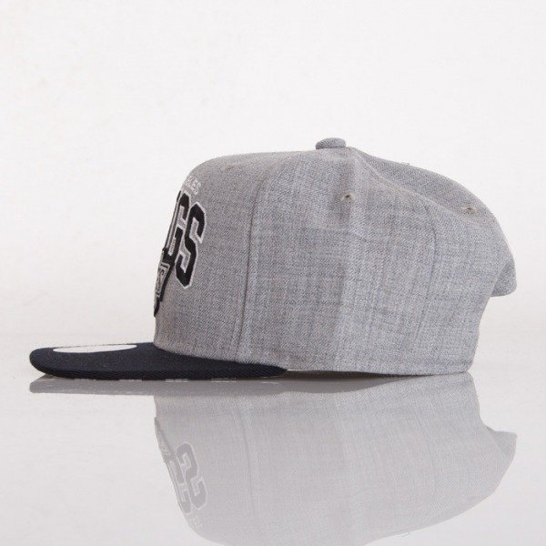 Mitchell & Ness cap Los Angeles Kings grey Black USA SB