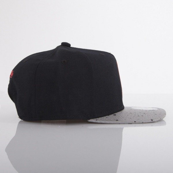 Mitchell & Ness cap NBA Logo black / grey Carbon EU445
