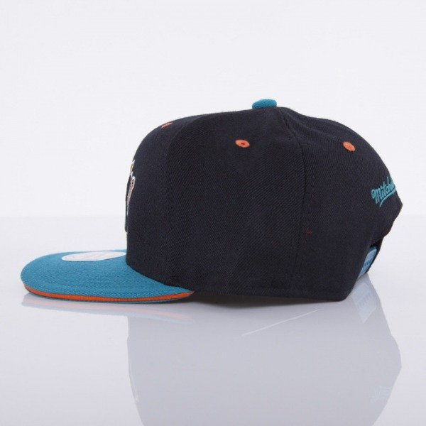 Mitchell & Ness cap San Jose Sharks black Tip Off