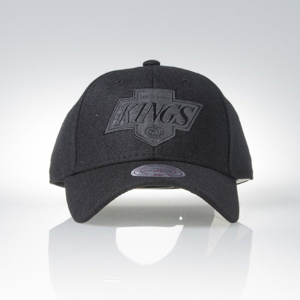 Mitchell & Ness cap snapback 6panel Los Angeles Kings  black Eclipse EU823