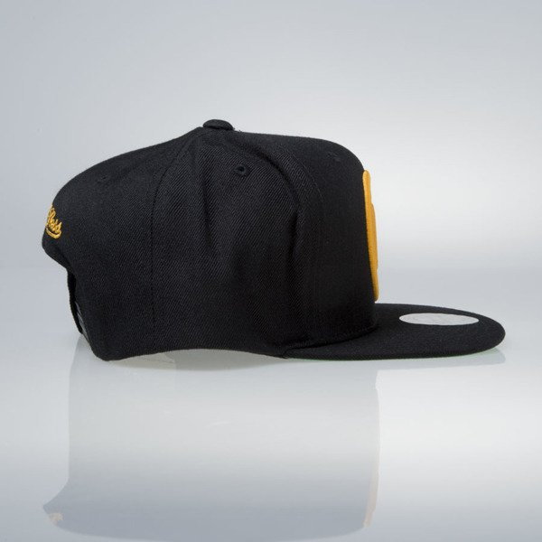Mitchell & Ness cap snapback Boston Bruins black Wool Solid / Solid 2 NZ980