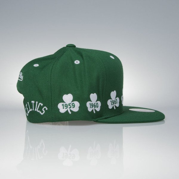 Mitchell & Ness cap snapback Boston Celtics green 1959-1966 NBA Champions V094Z