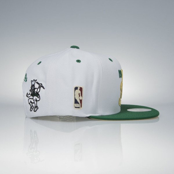Mitchell & Ness cap snapback Boston Celtics white / green 1957 NBA Champions V093Z