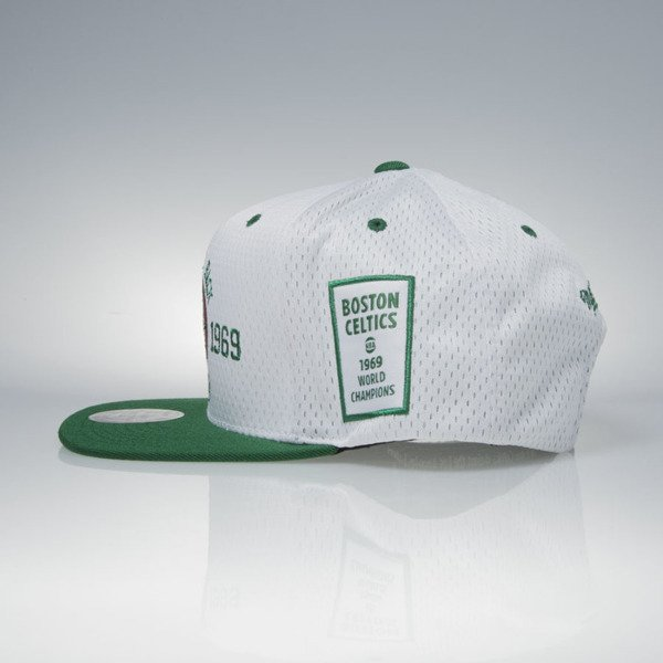 Mitchell & Ness cap snapback Boston Celtics white / green 1968-1969 NBA Champions V095Z