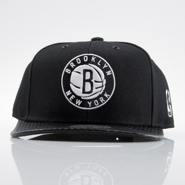 Mitchell & Ness cap snapback Brooklyn Nets black EU501 SPEEDWAY