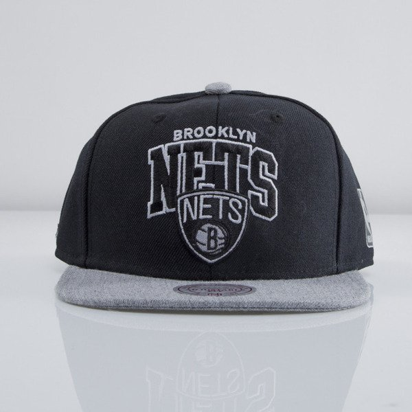 Mitchell & Ness cap snapback Brooklyn Nets black Forward Line EU435