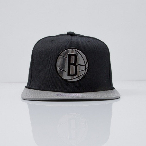 Mitchell & Ness cap snapback Brooklyn Nets black NEO EU360