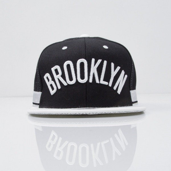 Mitchell & Ness cap snapback Brooklyn Nets black Team Short Jersey VE33Z