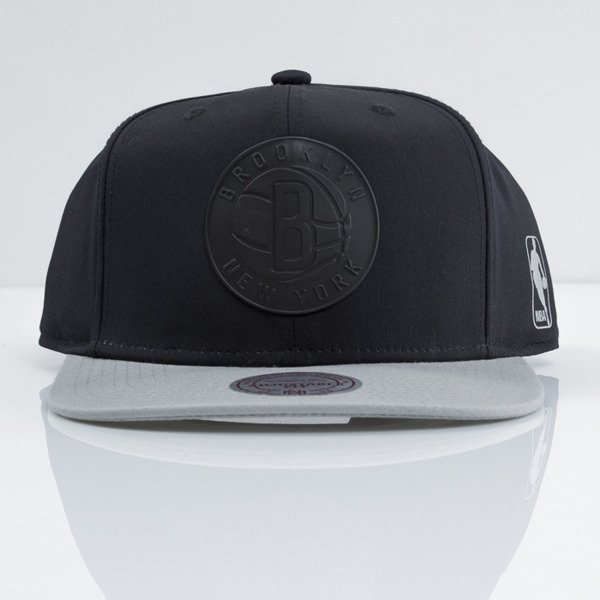 Mitchell & Ness cap snapback Brooklyn Nets black Tract EU363