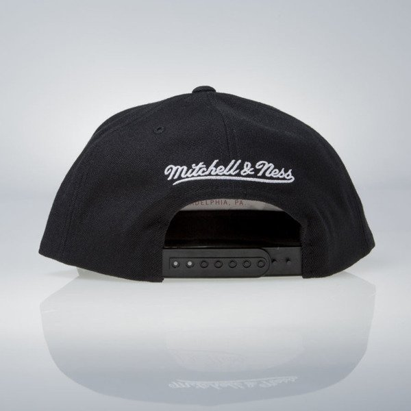 Mitchell & Ness cap snapback Brooklyn Nets black Wool Solid / Solid 2 NL99Z