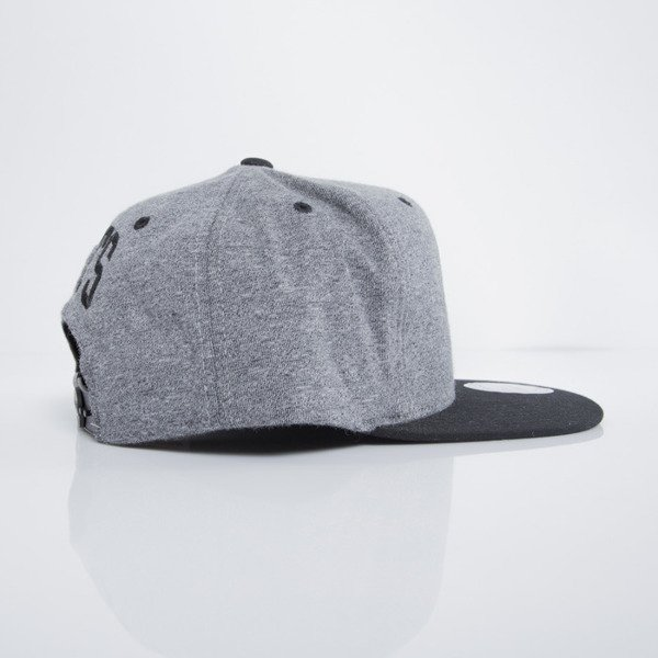Mitchell & Ness cap snapback Brooklyn Nets dark heather grey Sidewalk EU499