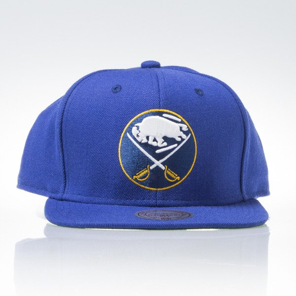 Mitchell & Ness cap snapback Buffalo Sabres blue WOOL SOLID NZ980