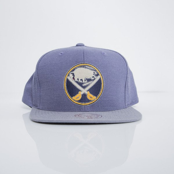 Mitchell & Ness cap snapback Buffalo Sabres heather purple Heather Profile EU780