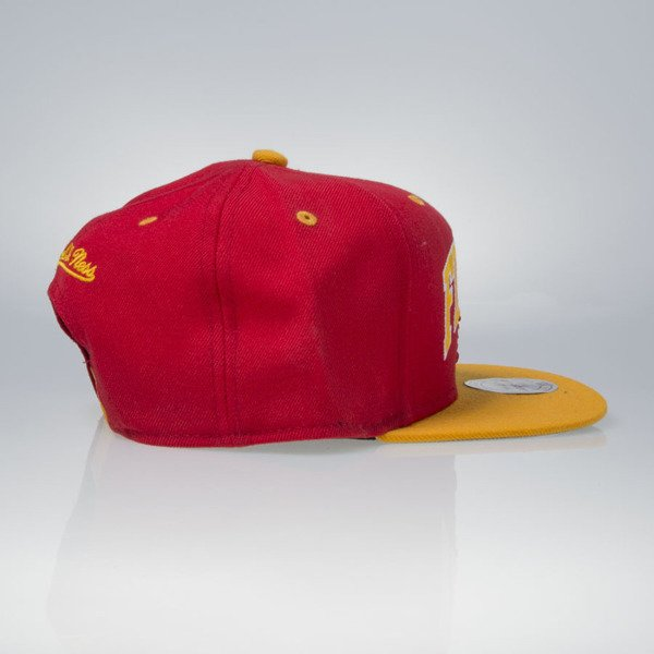 Mitchell & Ness cap snapback Calgary Flames red TEAM ARCH ND12Z