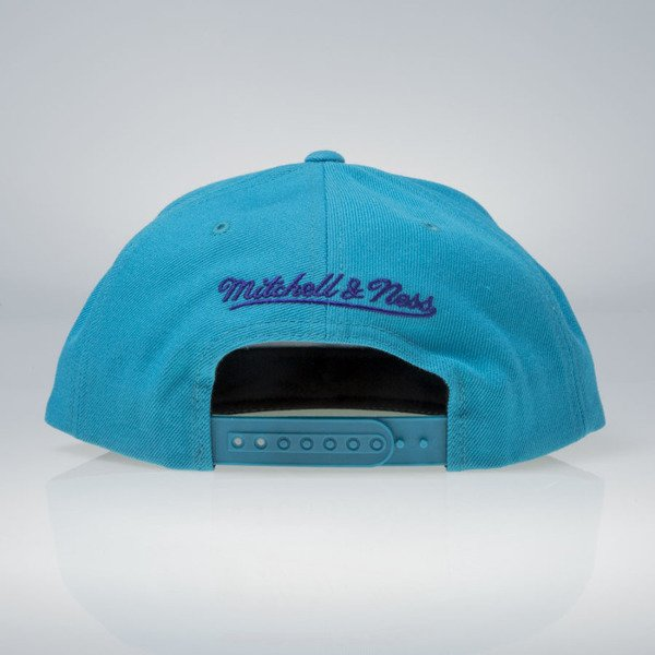 Mitchell & Ness cap snapback Charlotte Hornets teal Wool Solid / Solid 2 NT80Z