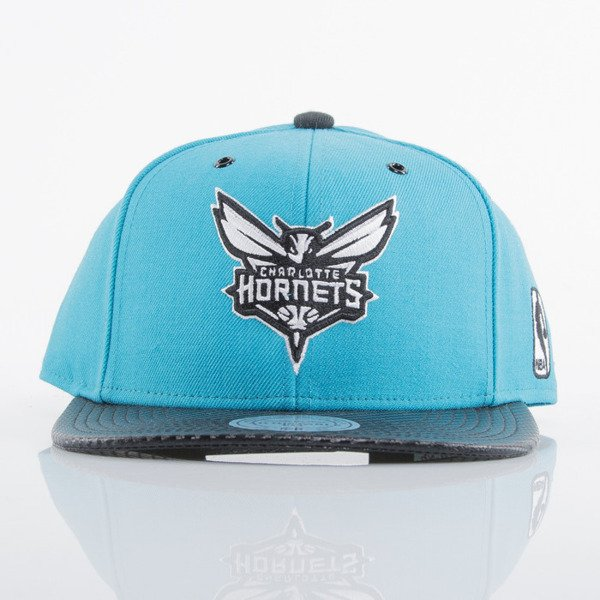 Mitchell & Ness cap snapback Charlotte Hornets turquoise EU501 SPEEDWAY