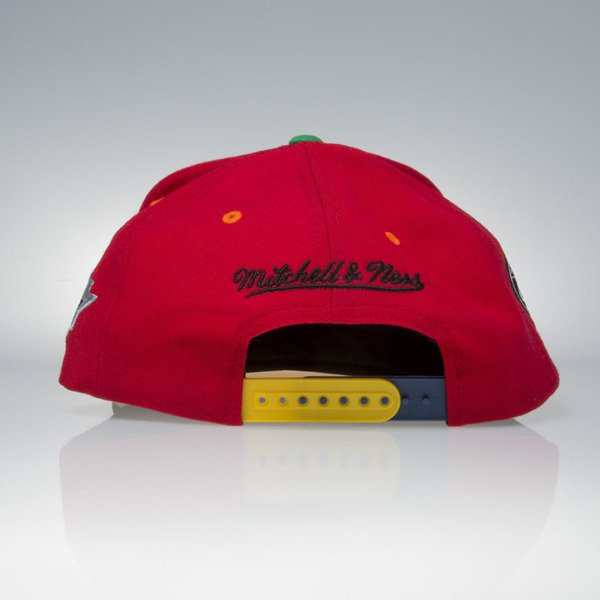 Mitchell & Ness cap snapback Chicago Blackhawks red / black 2012-2013 Stanley Cup Champions VP23Z