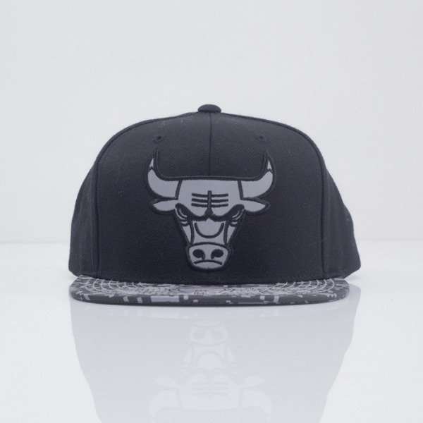 Mitchell & Ness cap snapback Chicago Bulls black Digi Camo VE36Z