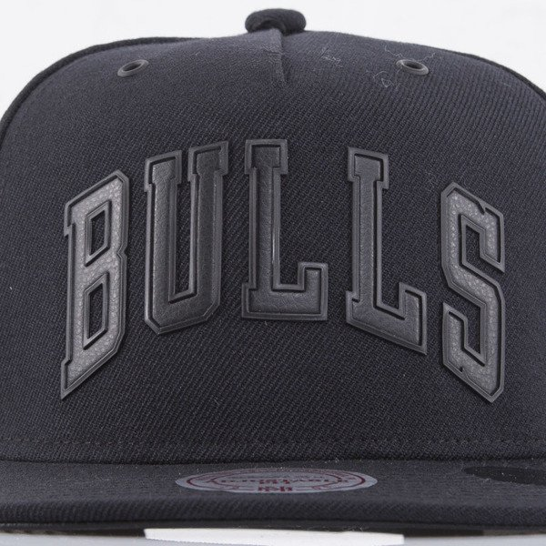 Mitchell & Ness cap snapback Chicago Bulls black Superior EU778