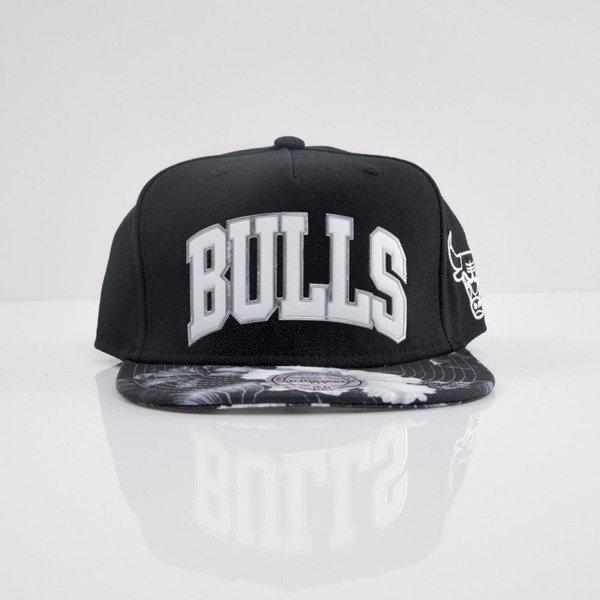 Mitchell & Ness cap snapback Chicago Bulls black Tropical Visor Sonic EU665