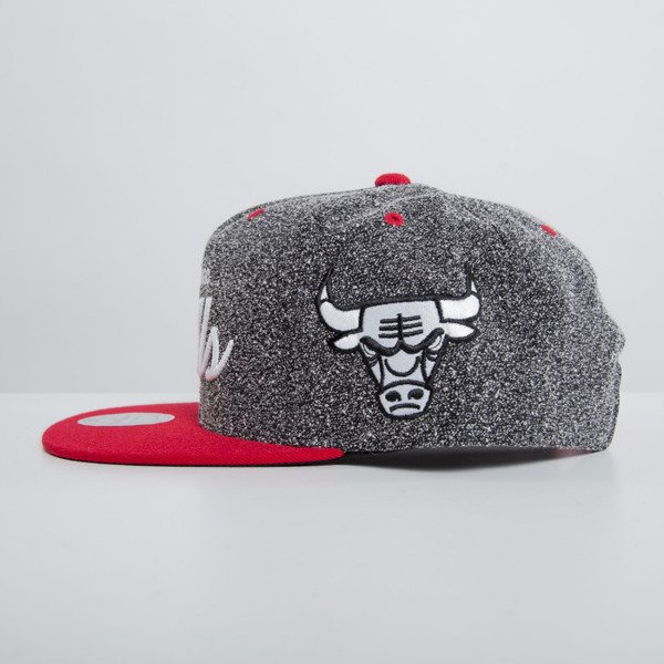 Mitchell & Ness cap snapback Chicago Bulls dark grey Static VI17Z