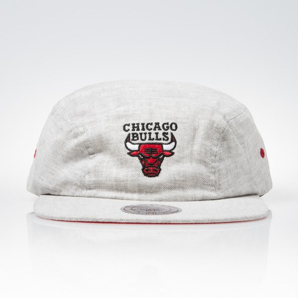 Mitchell & Ness cap snapback Chicago Bulls grey 2Panel Military Y477Z